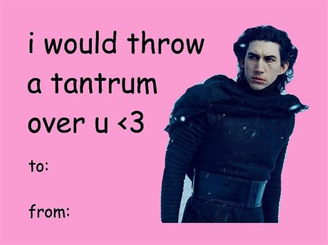 star wars the force awakens valentines cards