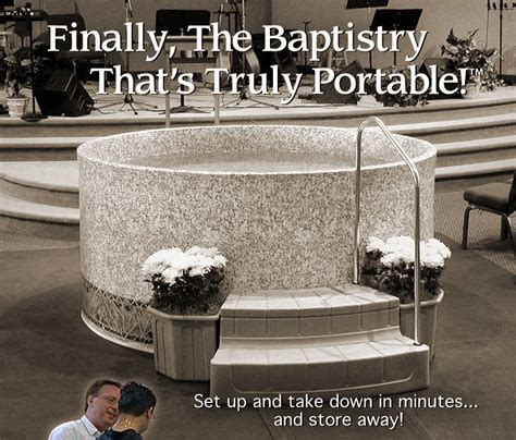portable baptismal pool church baptistry baptistery heaters portable baptistries baptismal pools