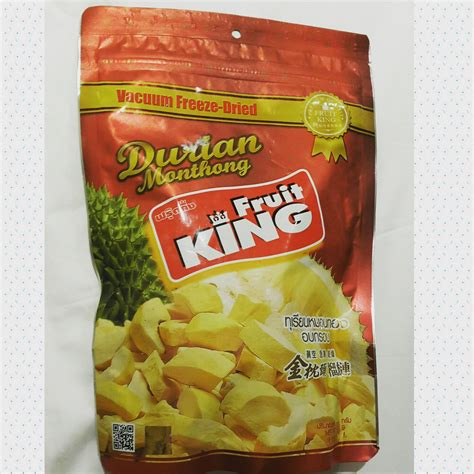 King Sandwich Jeje Makanan Siap Saji Modern Snack Tuna Blackpepper jual thailand freeze dried durian quot king fruit quot d chips