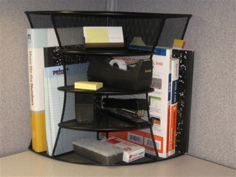 Office Cubicle Accessories Shelf by A 2 Way Corner Shelf Unit Will Add Storage Versatility To