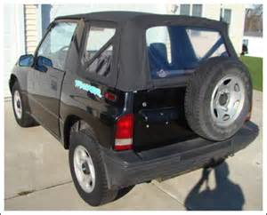 1988 94 geo tracker chevrolet tracker convertible tops