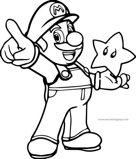 coloring pages baby mario awesome super mario coloring page wecoloringpage