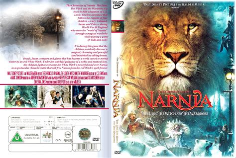 Witch Wardrobe Dvd by Covers Box Sk Chronicles Of Narnia The The Witch And The Wardrobe 2005 Front Back