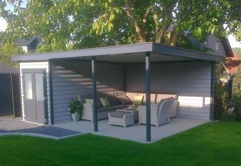 kunststof overkapping tuin kunststof tuinhuis met veranda kunststof blokhut met