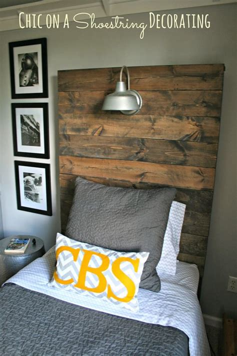 southern fried living salvaged wood headboards twin boys how to build a rustic wooden headboard with an attached