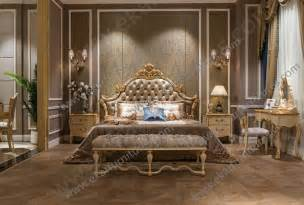 Bedroom Furniture Ta Beds Classic Bed King Bed Royal Luxury Bed Solid Wood Bed Supplier Italy Style Fb 138