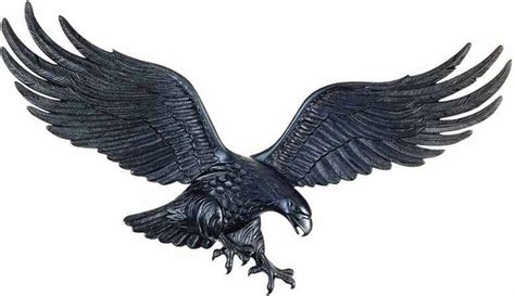 tattoo eagle wings spread bald eagle wings spread reaching tallons in black front