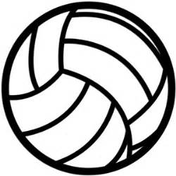 volleyball outline printable silhouette design store view design 10762 volleyball