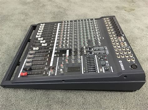 Mixer Yamaha Emx 5000 yamaha emx 5000 12 channel powered mixer with effects