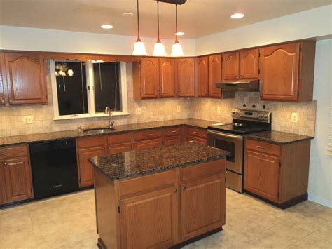 Kitchens With Granite Countertops with H Green Baltic Brown Granite Kitchen Countertop Granix Marble Granite Inc