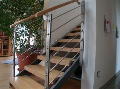 edelstahl treppe treppe aus lackiertem stahl und multiplexstufen