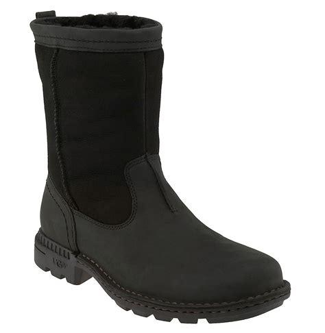 boots mens australia ugg australia hartsville boot in black for lyst