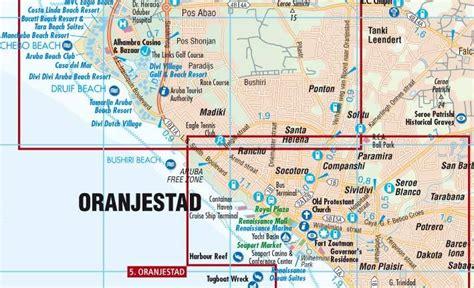 printable aruba road map maps road maps atlases aruba