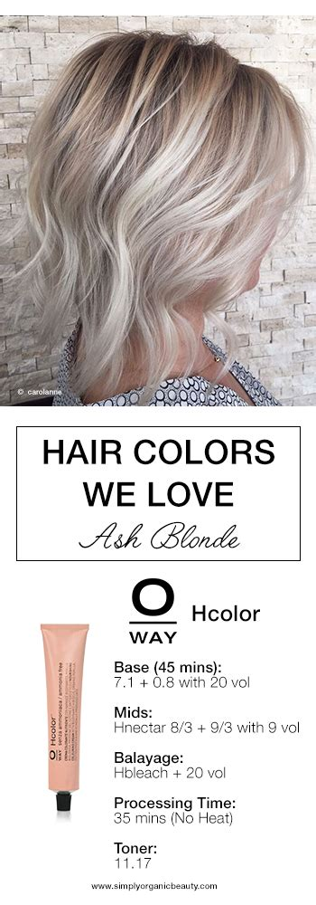 hair coloring formulas for going blonde trending hair colors this week with formulas simply
