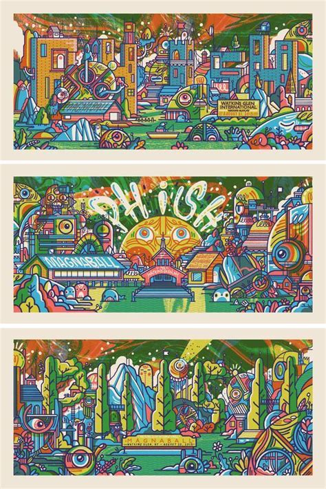 magnaball roundup  phish festival  posters setlists tweets    blog