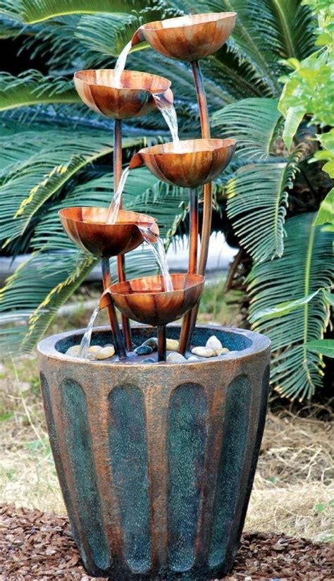 Copper Garden Decor Copper Falls Cascading Garden Fresh Garden Decor