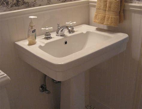 classic bathroom sink vintage style powder room vintage style pedestal sink