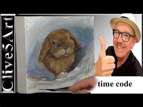 watercolor rabbit tutorial 17 best images about artist clive5art tutorials on