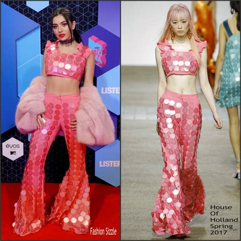 european house music charli xcx in house of holland at the 2016 mtv europe music awards fashionsizzle