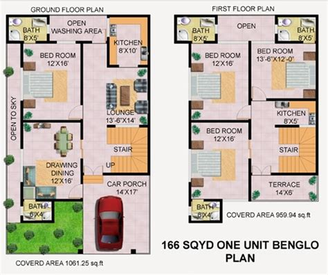 home maps design 200 square yard payment plan 166 sq yards double story khairpur green