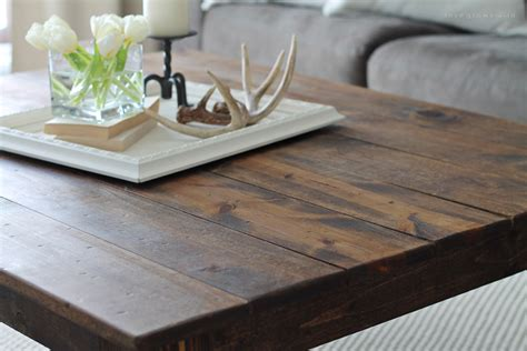 diy farmhouse coffee table grows