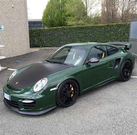 porsche racing green racing green gt2rs via lartdelautomobile porsche