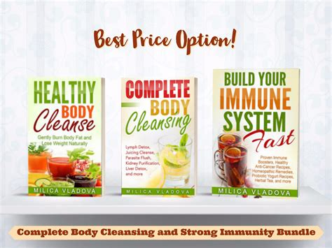 System Detox Complete Flush by Build Your Immune System Fast Mind And Spirit Wellbeing