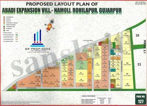 layout plan greater noida proposed layout plan for 5 abadi extension at village