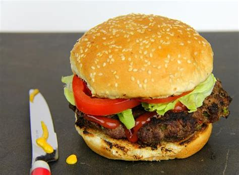 Handmade Hamburger - the caribs simple burgers