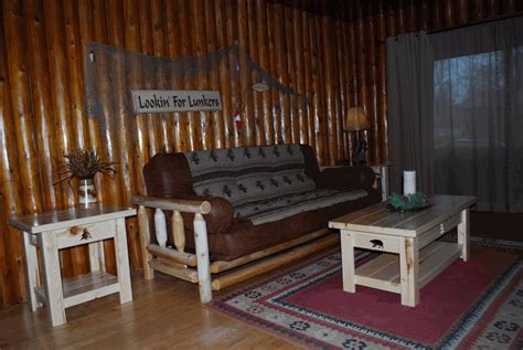 cabin futon living room with futon log cabins guides boat