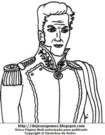 dibujos para colorear d simon bolivar dibujos fotos acrostico y mas dibujo de simon bolivar