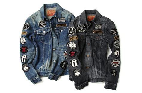 Jaker Bomber Bordir Black Jacket Patches