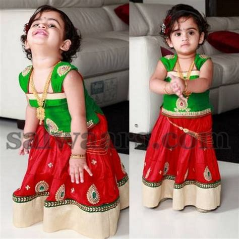 south indian dress for baby boy kid in wear pavada indian dresses