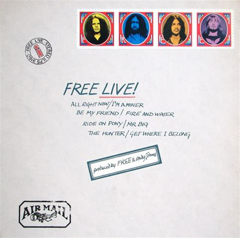 live free free free live at discogs