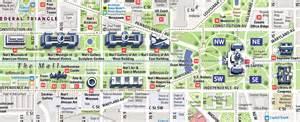 washington dc map of mall washington mall map