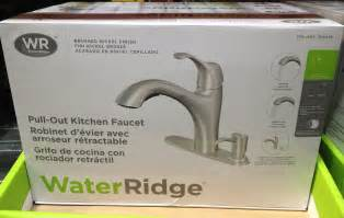 Costco Kitchen Faucets by Costco Kitchen Faucet Water Ridge
