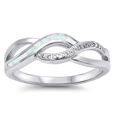infinity knot ring new 925 sterling silver band ebay