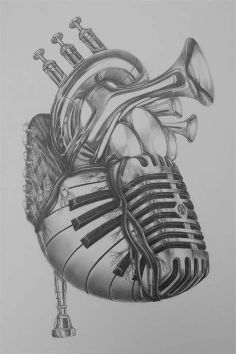 music heart tattoo designs 25 best drawings ideas on zentangle