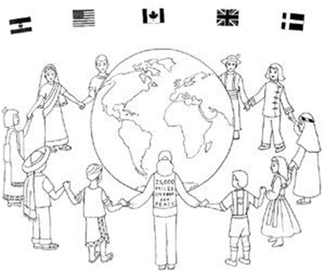 multicultural coloring pages preschool multicultural coloring pages for preschoolers coloring pages