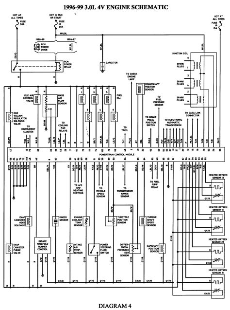 99 taurus fuel wiring diagram get free image about