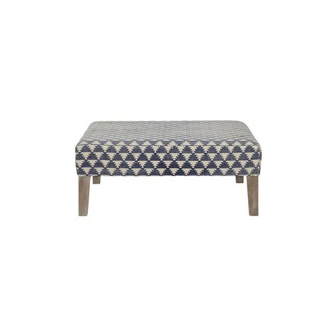 Home Decorators Ottoman Home Decorators Collection Lira Acute Indigo Accent Ottoman 9495200550 The Home Depot