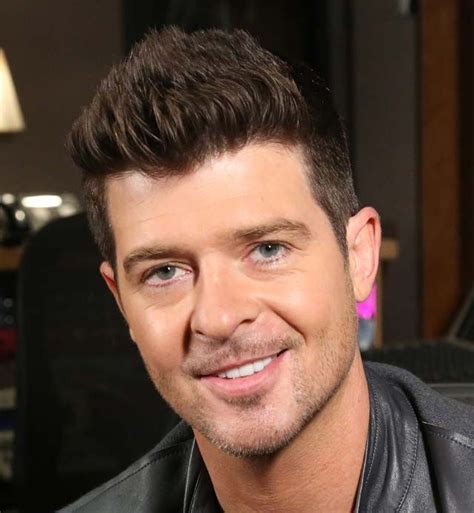 robin hecke robin thicke s up hairstyle 2014 hair trends