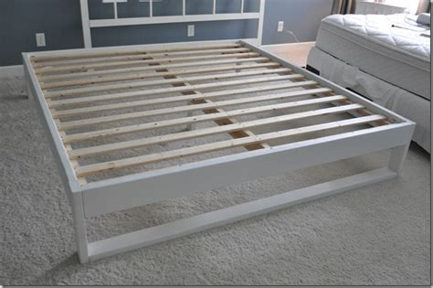 how to build a simple bed frame 12 diy bed frame ideas diy formula