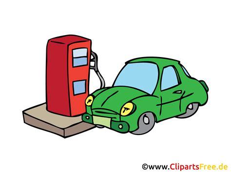 Auto Tanken auto an der tankstelle tanken bild clipart illustration