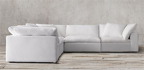 restoration hardware cloud sectional fyi tips for choosing the right sofa interiors