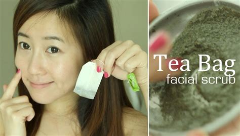 Facemask Crush Greentea tea bag scrub