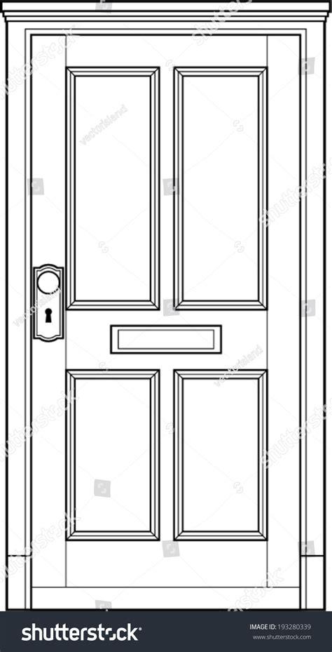 door to door lines door line stock vector illustration 193280339