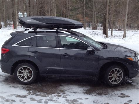 2009 rdx roof rack 2014 rdx anybody using a yakima or other roof box