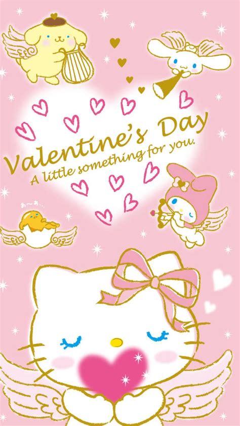 hello kitty valentines desktop wallpaper hello kitty valentines wallpaper 183