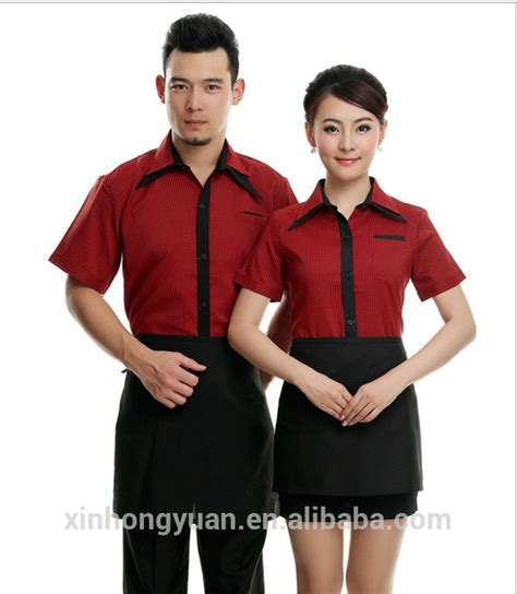 design your own cafe uniform asian restaurant uniform fast food restaurants uniform